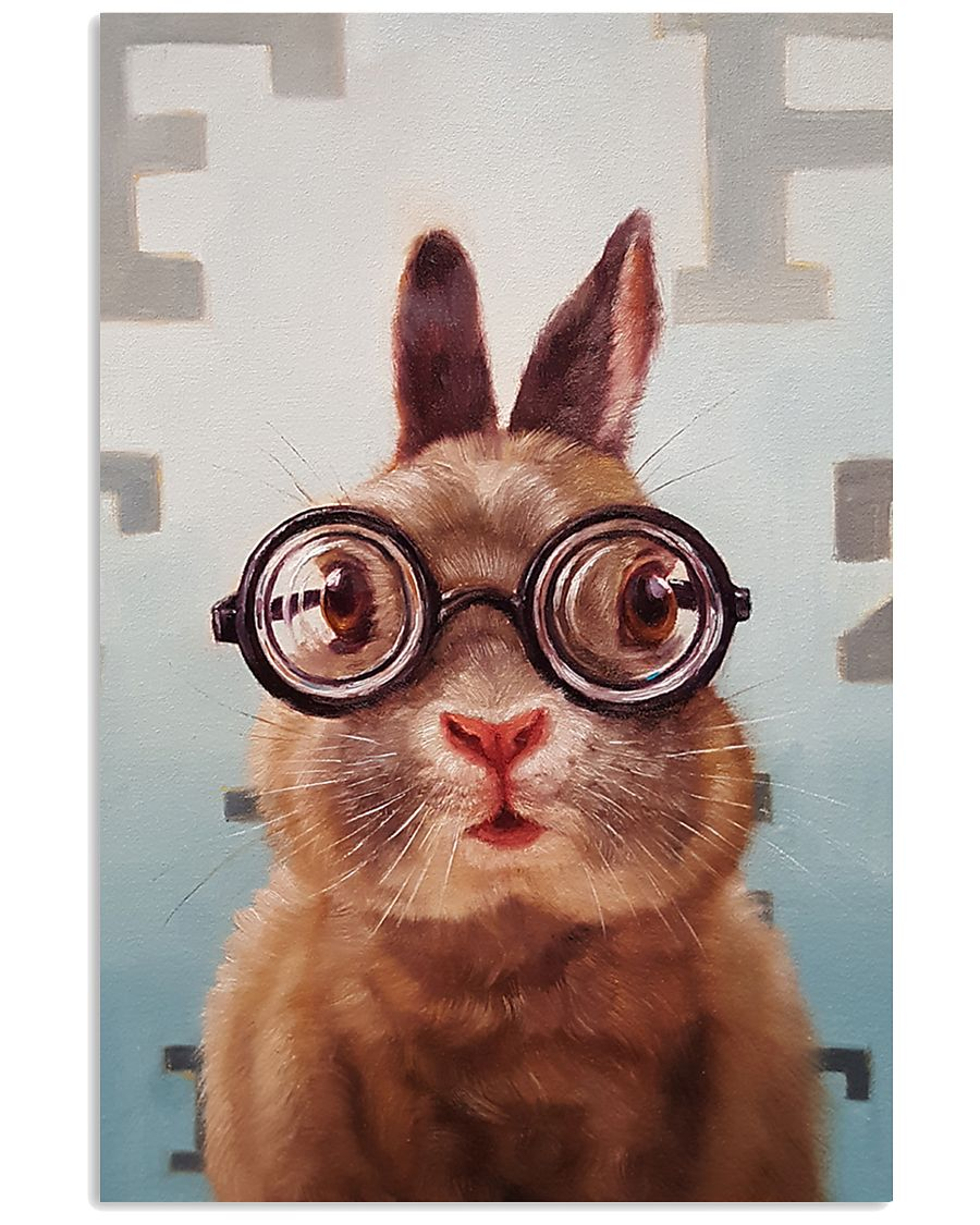 Optometric-bunny 11x17 Poster