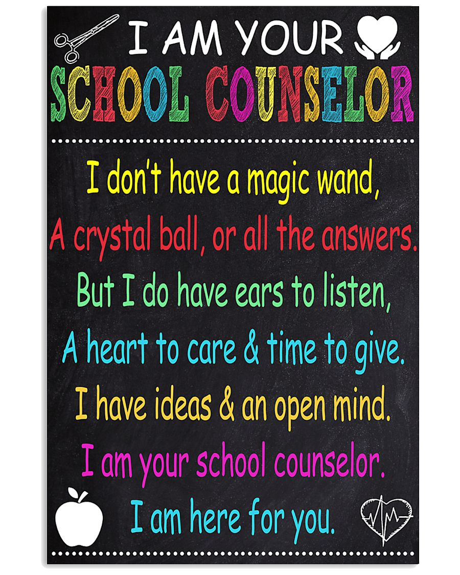 school-counselor 11x17 Poster