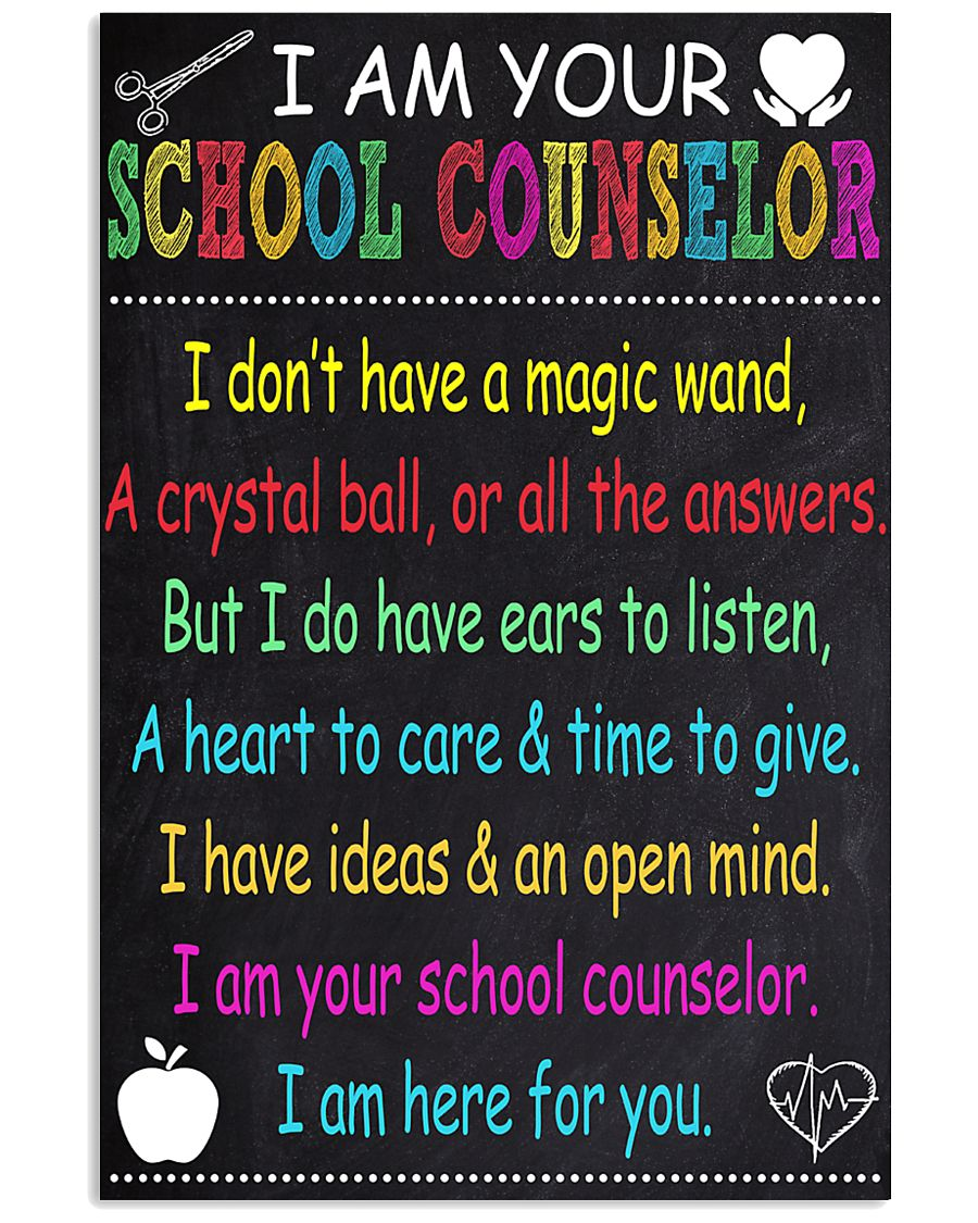 school-counselor 16x24 Poster