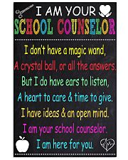 school-counselor 16x24 Poster front