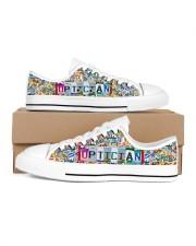 shoe plate optician Women's Low Top White Shoes thumbnail