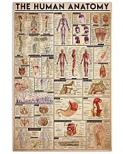 Human anatomy 11x17 Poster front