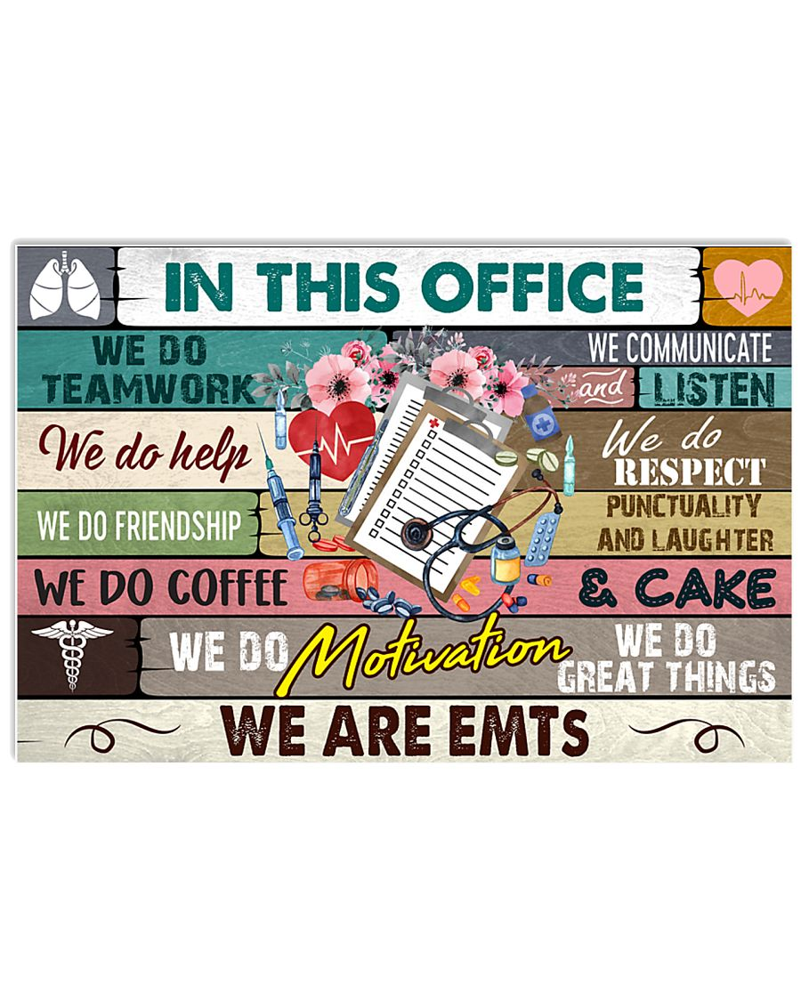 this-office-EMTs 17x11 Poster