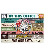 this-office-EMTs 17x11 Poster front