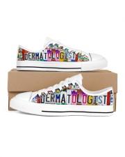 shoe plate dermatologist Women's Low Top White Shoes thumbnail