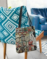 Stack Glass Tote Otometrist All-over Tote aos-all-over-tote-lifestyle-front-01
