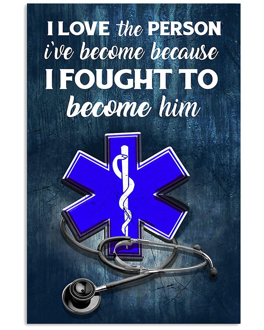 paramedic-fought-him 24x36 Poster