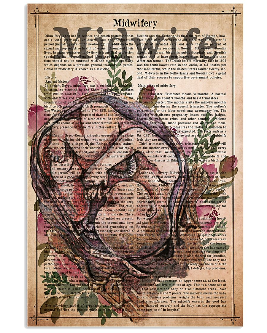 midwife-text-4 11x17 Poster