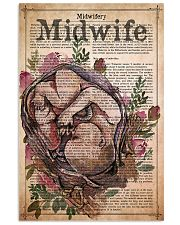 midwife-text-4 11x17 Poster front