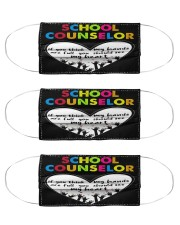 counselor hand full Cloth Face Mask - 3 Pack front