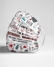cant stay school nurse Cloth Face Mask - 3 Pack aos-face-mask-lifestyle-21