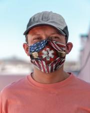 paramedic flag mas Cloth Face Mask - 3 Pack aos-face-mask-lifestyle-06