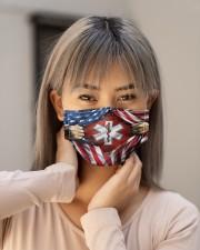 paramedic flag mas Cloth Face Mask - 3 Pack aos-face-mask-lifestyle-18