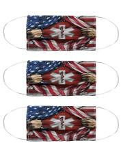 paramedic flag mas Cloth Face Mask - 3 Pack front