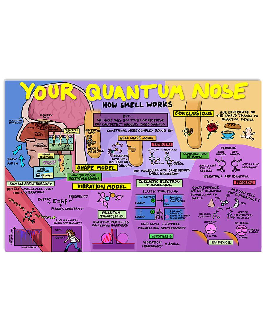 your quantum nose 17x11 Poster