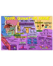 your quantum nose 17x11 Poster front
