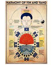 yin yang harmony 24x36 Poster front