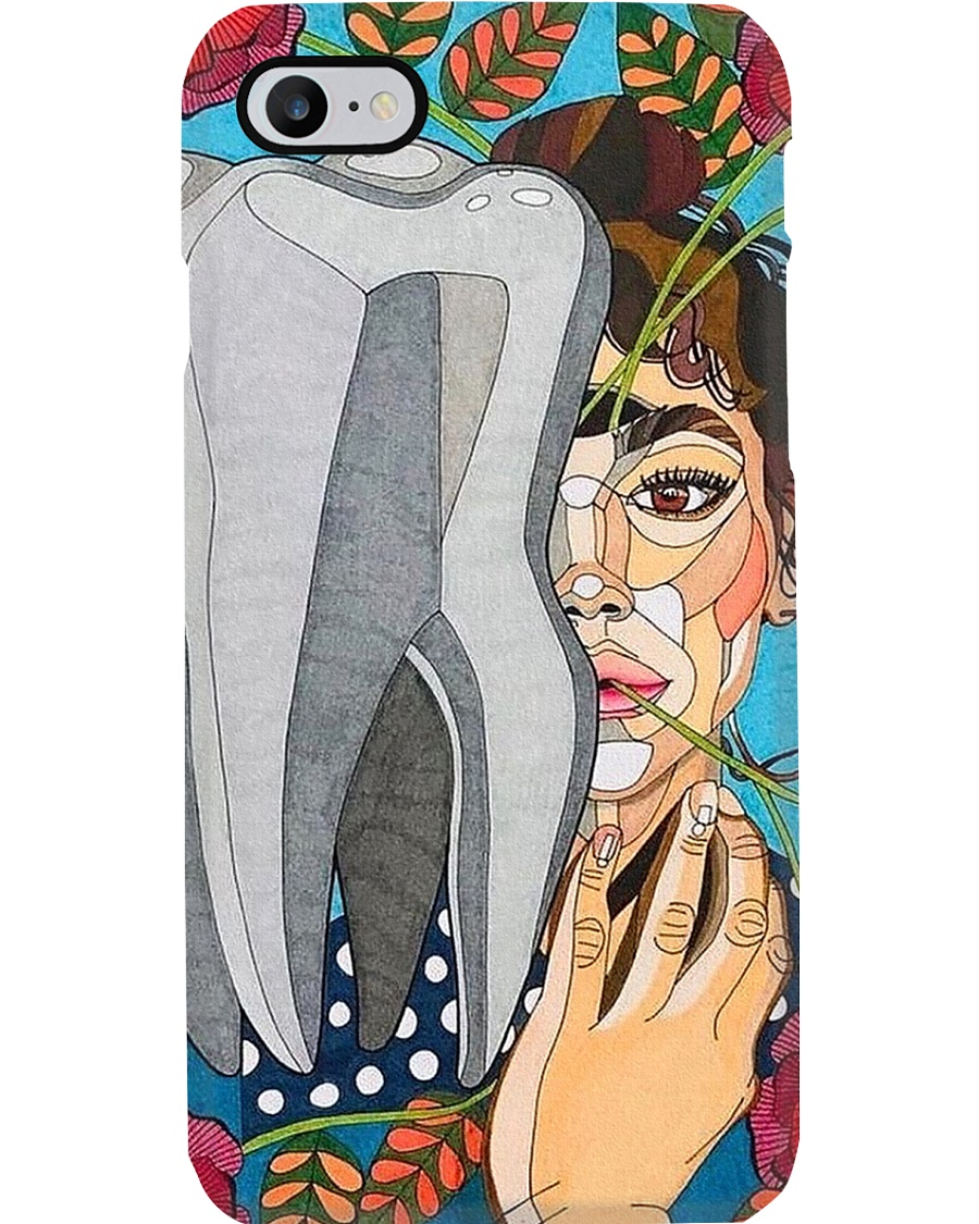 dental-abstract 0905 01 Phone Case