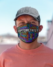 Optometry Typo Cloth Face Mask - 3 Pack aos-face-mask-lifestyle-06