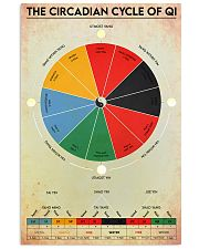 Circadian Cycle of Qi 24x36 Poster front
