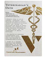 vetenerian oath 11x17 Poster front