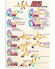 cardiologist heart doodle 24x36 Poster front