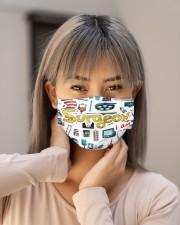 surgeon i am mas Cloth Face Mask - 3 Pack aos-face-mask-lifestyle-18
