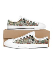 optometrist-glass-shoe Men's Low Top White Shoes inside-right-outside-right