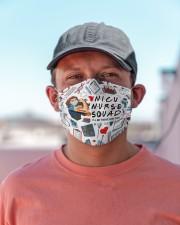 mas squad nicu nurse Cloth Face Mask - 3 Pack aos-face-mask-lifestyle-06