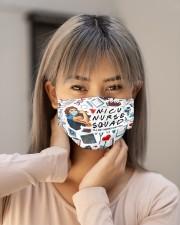 mas squad nicu nurse Cloth Face Mask - 3 Pack aos-face-mask-lifestyle-18