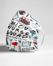 mas squad nicu nurse Cloth Face Mask - 3 Pack aos-face-mask-lifestyle-21
