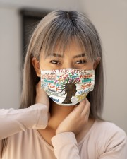 trichologist poster this office Cloth Face Mask - 3 Pack aos-face-mask-lifestyle-18