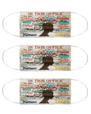 trichologist poster this office Cloth Face Mask - 3 Pack front