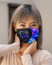 neon mask dentist Cloth Face Mask - 3 Pack aos-face-mask-lifestyle-18