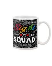 sight squad mask  Mug tile