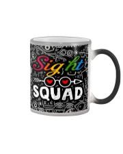 sight squad mask  Color Changing Mug tile
