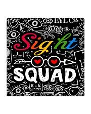 sight squad mask  Square Coaster tile