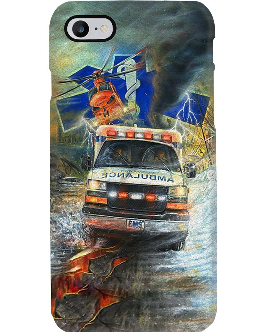 paramedic oil paint Phone Case