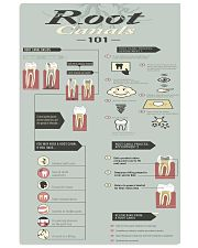 root canal 101 11x17 Poster front
