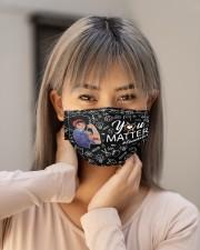 schoolcounselor matter mask bk  Cloth Face Mask - 3 Pack aos-face-mask-lifestyle-18