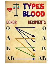 blood type 11x17 Poster front