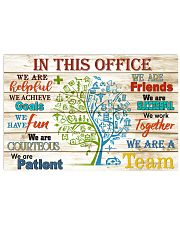 this office tree nurse 17x11 Poster front