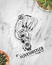 Sticker Hustler LIVES Sticker - 4 pack (Vertical) aos-sticker-4-pack-vertical-lifestyle-front-06