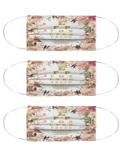 Rose Chart Cloth Face Mask - 3 Pack front