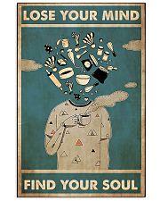loose mind baker 24x36 Poster front