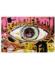 optometrist eye art pt lqt ntv 36x24 Poster front