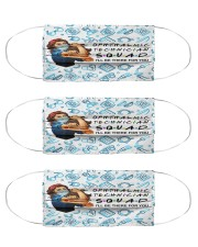 mas squad Ophthalmic Technician  Cloth Face Mask - 3 Pack front