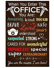 nurse office 11x17 Poster front