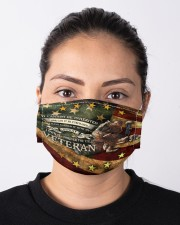 veteran forever flag mas Cloth Face Mask - 3 Pack aos-face-mask-lifestyle-01