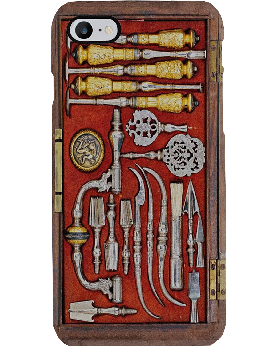 sugery tool antique Phone Case